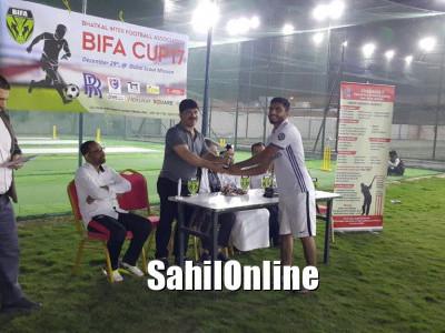 دبئی میں بیفا کے زیر اہتمام فٹ بال ٹورنامنٹ کاکامیاب انعقاد