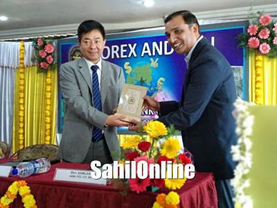 Seminar on Forex organised by RBI at RNS Murdeshwar