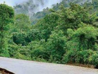 منگلورو: چٹانیں کھسکنے کی وجہ سے غیر معینہ مدت تک ٹریفک کے لئے بند کیا گیا شیراڈی گھاٹ