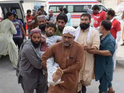 بلوچستان کے خودکش دھماکے میں 133افراد ہلاک، 125سے زیادہ زخمی