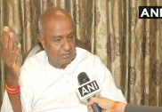 Deve Gowda defends son over budget; hits out at Congress leaders