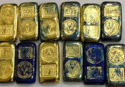Gold worth Rs 20 lakh seized at airport, one held