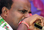 Swallowing pain like Lord Shiva who drank poison, says tearful Kumaraswamy