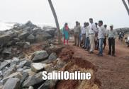 Sea erosion intensifies at Bhatkal
