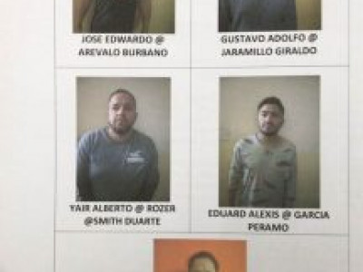 International burglar gang busted with arrest of 5 Colombians'