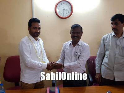 بھٹکل:تنظیم کے حمایت یافتہ ممبر سید آدم پنمبور جالی پٹن پنچایت کے نئے صدر منتخب