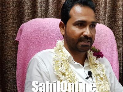 ಜಾಲಿ ಪ.ಪಂ ಅಧ್ಯಕ್ಷರಾಗಿ ಆದಂ ಪಣಂಬೂರು ಸರ್ವಾನುಮತದಿಂದ ಆಯ್ಕೆ
