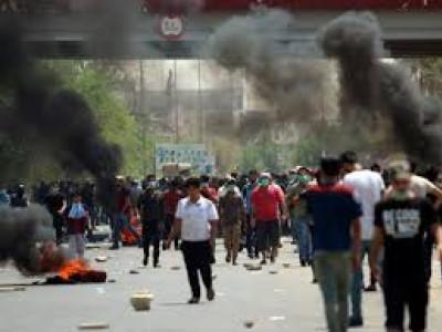 عراق: عوامی احتجاج کے 11 روز میں 8 افراد ہلاک اور 60 زخمی