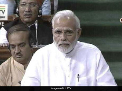 Modi mocks Rahul over his gesture to make him stand before hugging, says he is in 'hurry' to get PM's chair