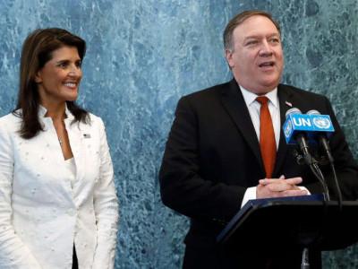 روس کو سابق امریکی سفیر سے تفتیش کی اجازت نہیں دی جائے گی: پومپیو