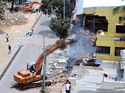 غیر قانونی قبضہ جات ہٹانے بی بی ایم پی کی تیاریاں دوبارہ شروع 728 مقامات پر انہدام کا کام باقی، نوٹس جاری کرنے کے بعد کارروائی کا فیصلہ