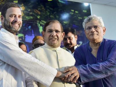 تمام حزب اختلاف جماعتیں مل کر بی جے پی کوشکست دیں گی :راہل گاندھی