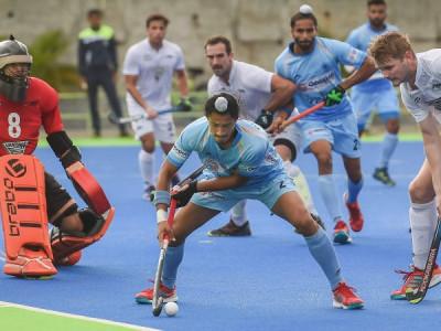 ہندوستان  ہاکی ٹیم نے نیوزی لینڈ کو 4-0سے شکست دے کر کیا سیریز میں وائٹ واش