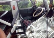 یلاپور میں لاری اور اومنی کی خطرناک ٹکر؛ دو ہلاک، تین شدید زخمی