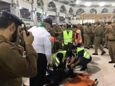 مسجد الحرام میں غیر ملکی شخص کی خودکشی