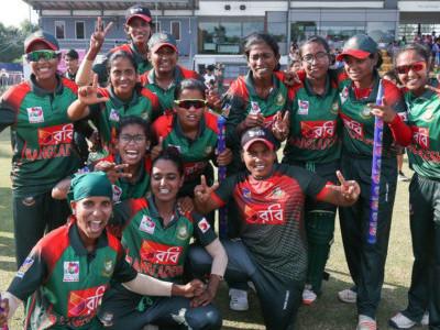 بنگلہ دیش نے ویمن ایشیا کرکٹ کپ جیت لیا