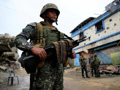 جنوبی فلپائن میں فوجی کارروائی میں 15 عسکریت پسند ہلاک