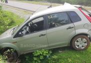 بھٹکل کے بیلور کراس پر بس نے پیچھے سے دی کار کو ٹکر؛ ایک ہلاک؛ تین زخمی
