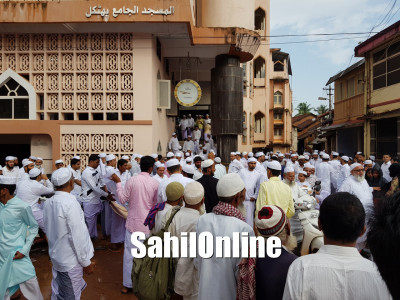 Religious fervour, festivity mark Eid celebrations in Uttara Kannada