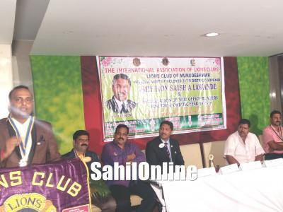 ಭಟ್ಕಳ:ಲಯನ್ಸ್ ಕ್ಲಬ್ ನೂತನ ಪದಾಧಿಕಾರಿಗಳ ಪದಗ್ರಹಣ