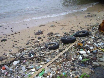 Sea eating into beach; locals call for solution