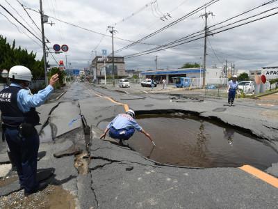 جاپان میں.1 6 شدت کا زلزلہ، تین افراد ہلاک