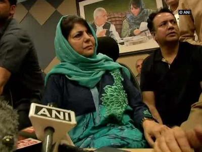 جموں و کشمیر میں مودی سرکارکی پالیسی ناکام ہوئی : محبوبہ مفتی
