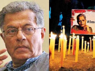 گوری لنکیش کی طرح دیگر ادیبوں کے قتل کی سازش کا انکشاف 4روشن خیال مفکروں کو سکیورٹی فراہمی زیر غور