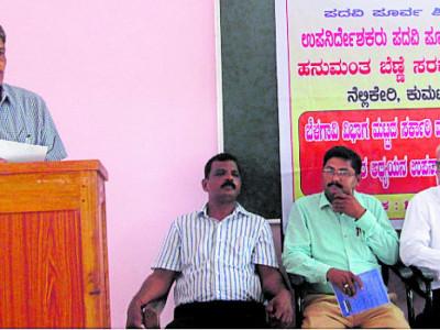 Kumta: Need to adopt NCERT model to teach commerce stressed