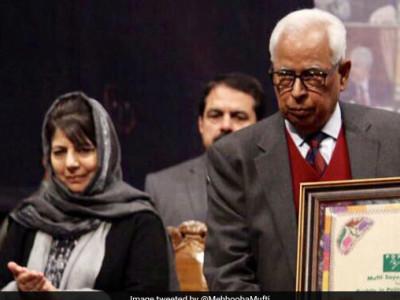 صدرجمہوریہ رام ناتھ کووند سے ریاست میں گورنر راج نافذ کرنے ووہرا کی سفارش