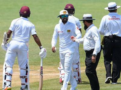 بال ٹیمپرنگ کے الزام پر سری لنکن ٹیم بھڑک اٹھی