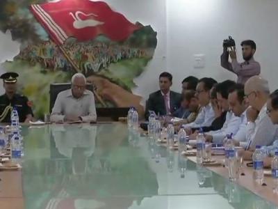 جموں وکشمیر: بی جے پی نائب صدرنے گورنر ووہرا سے ملاقات کی