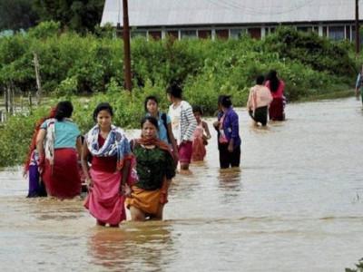 آسام میں سیلاب کے باعث چھ اور لوگوں کی موت