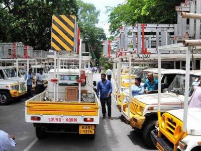 بنگلورو میں اسٹریٹ لائٹس ٹھیکہ داروں کو فوری بل ادائیگی کا مطالبہ