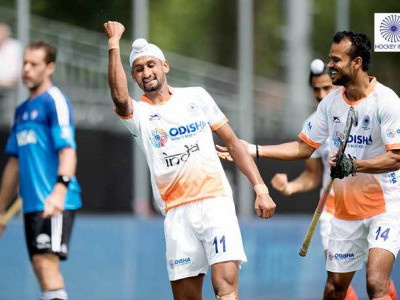 India stun Argentina 2-1 in Champions Trophy hockey
