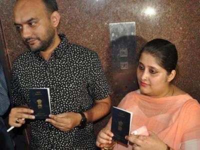 پاسپورٹ تنازع میں نیا موڑ ، انس صدیقی کی اہلیہ تنوی سیٹھ کے پاسپورٹ کی ہوگی ایل آئی یو جانچ