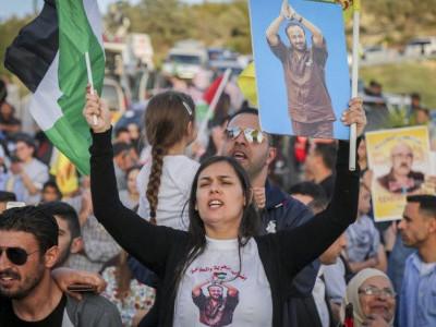 اسرائیلی جیل میں قید بھوک ہڑتالی فلسطینی کی حالت تشویشناک
