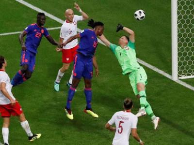 فیفا ورلڈ کپ، کولمبیا نے پولینڈ کو0-3 سے ہرادیا