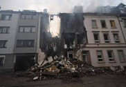 Building blast leaves 25 injured, 4 serious in Germany's Wuppertal