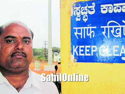 Kumta businessman adopts station to ensure its sanitary upkeep