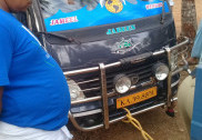 Cattle trafficking in Shiroor, vehicle seized