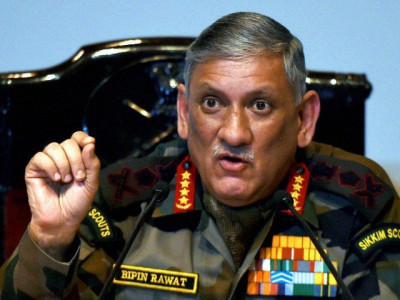 The Indian Army Chief Crossed the Democratic Line of Control ... By M. Burhanuddin Qasmi
