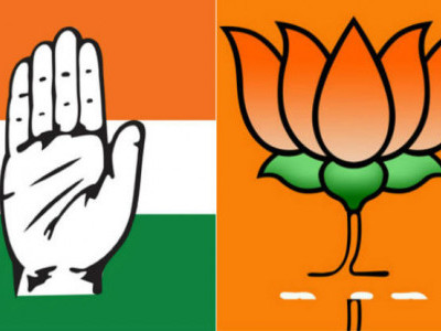 Achievements to be Congress BJP's main election plank