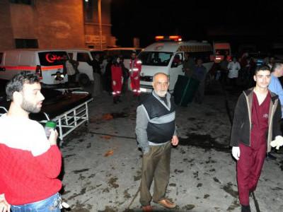 دمشق میں باغیوں کا راکٹ حملہ، 35 افراد ہلاک
