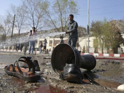 کابل یونیورسٹی کے نزدیک خود کش دھماکے میں 26 افراد ہلاک
