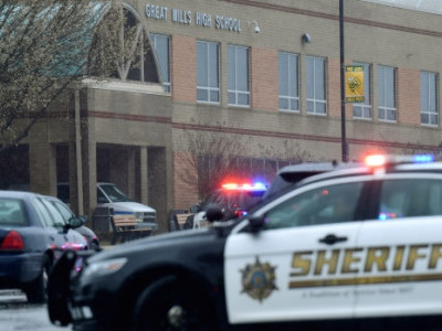 میری لینڈ: ہائی اسکول میں فائرنگ سے ایک ہلاک، دو زخمی