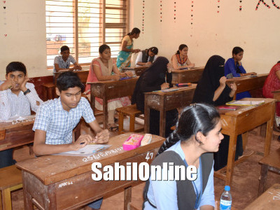 SSLC examination begins in Karnataka; 2018 students appeared in Bhatkal on first day of the examination