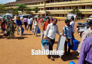 Preparations for polling in full swing, busy day at mustering centre in Bhatkal