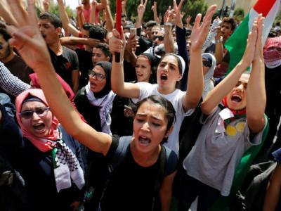 غزہ میں زخمی مظاہرین کو اردن منتقل کرنے کی اجازت