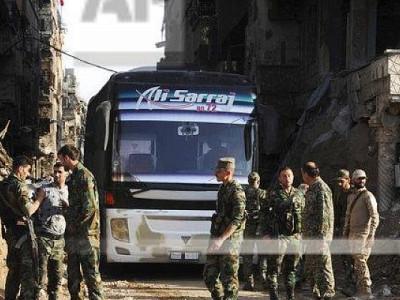 دمشق کے جنوب میں شامی حکومت اور داعش کے درمیان معاہدہ